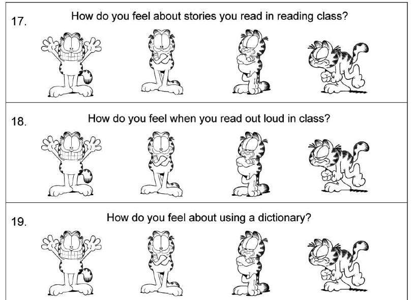 Reading Attitude Survey for Students | Reading | Pinterest ...