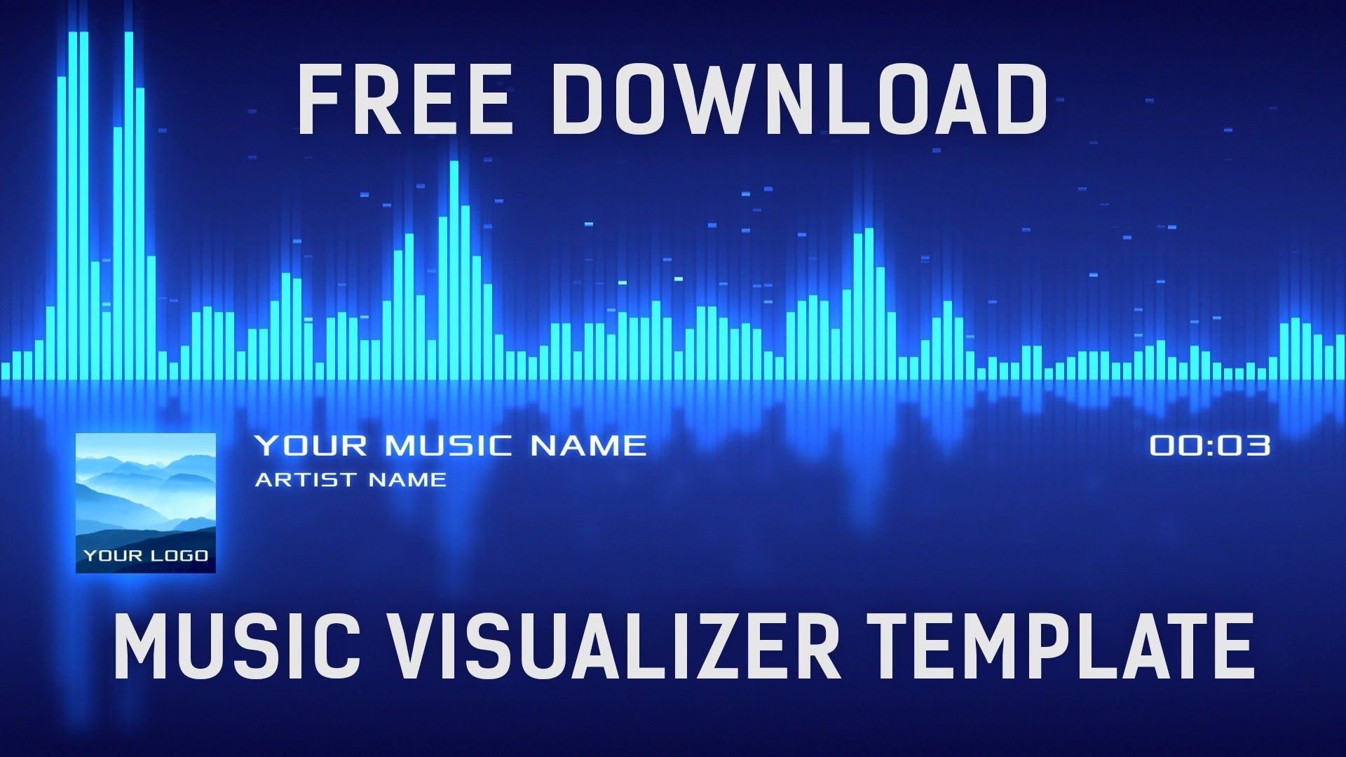 Free Music Visualizer After Effects Template Free Download