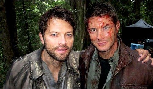 Misha and Jensen #Supernatural