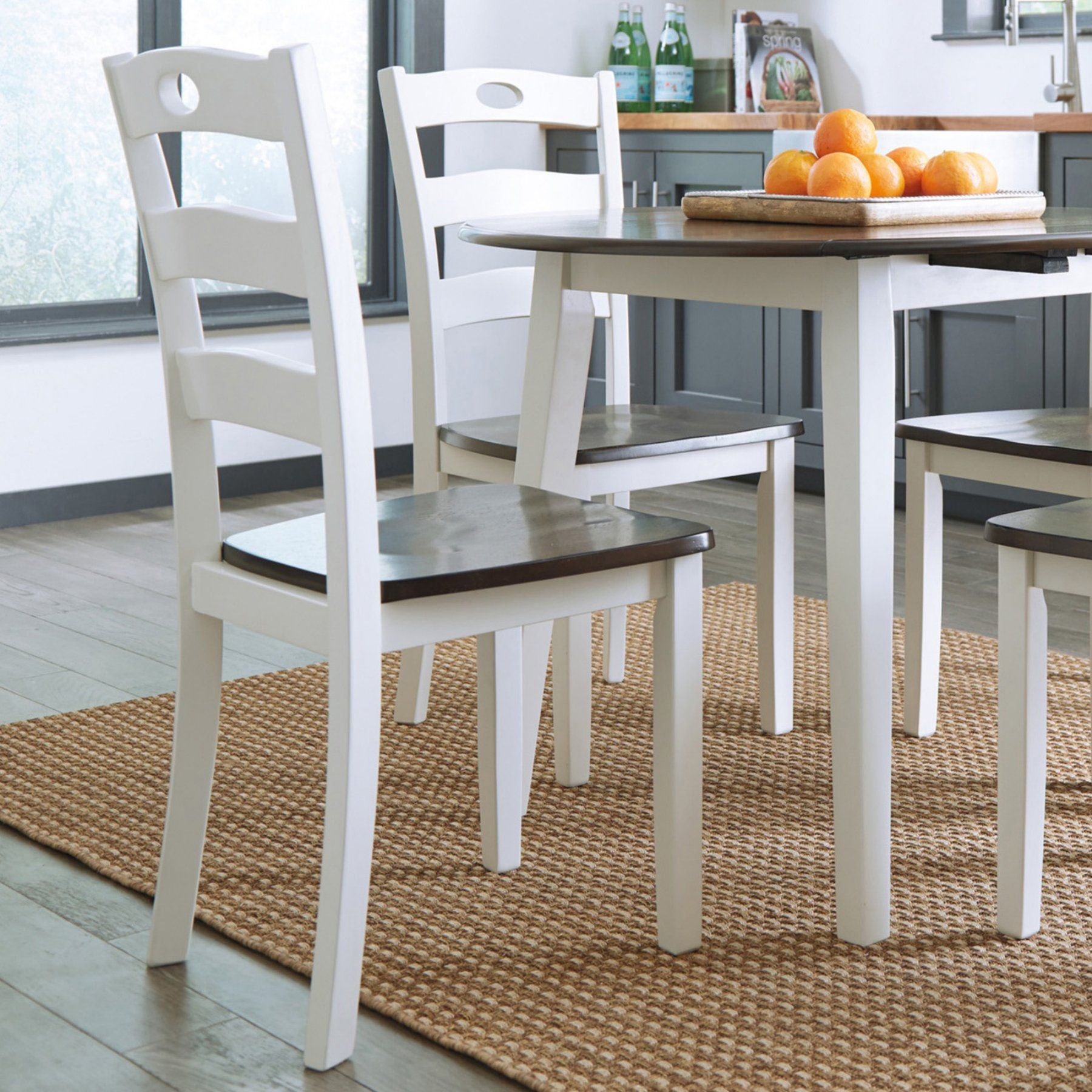 Signature Design By Ashley Woodanville Dining Side Chair  Set