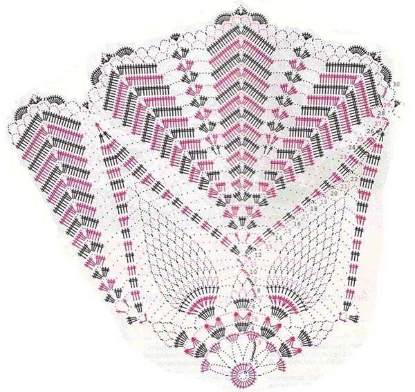 Pin de Horten Dos Santos en horten   Pinterest   Crochet patrones ...
