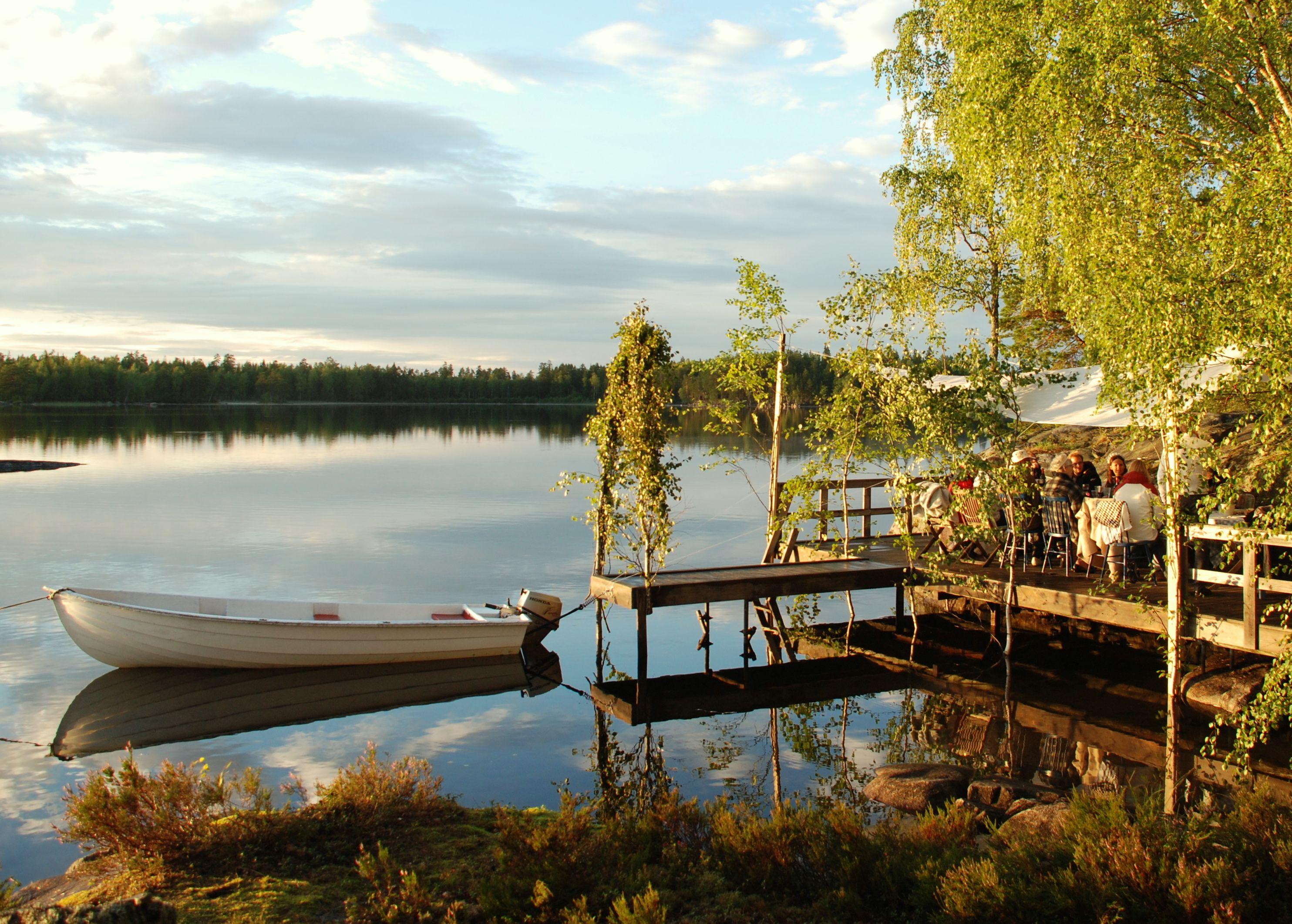 Summer at Storljusen, Västmanland Sweden