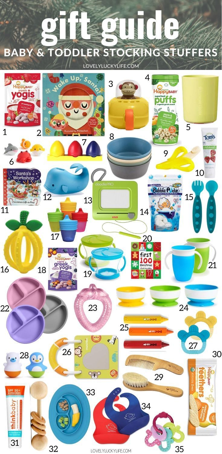 Stocking Stuffers for Babies & Toddlers Under $25