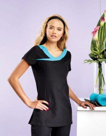 PR691 Premier Workwear Ivy Beauty Tunic Contrast Trim