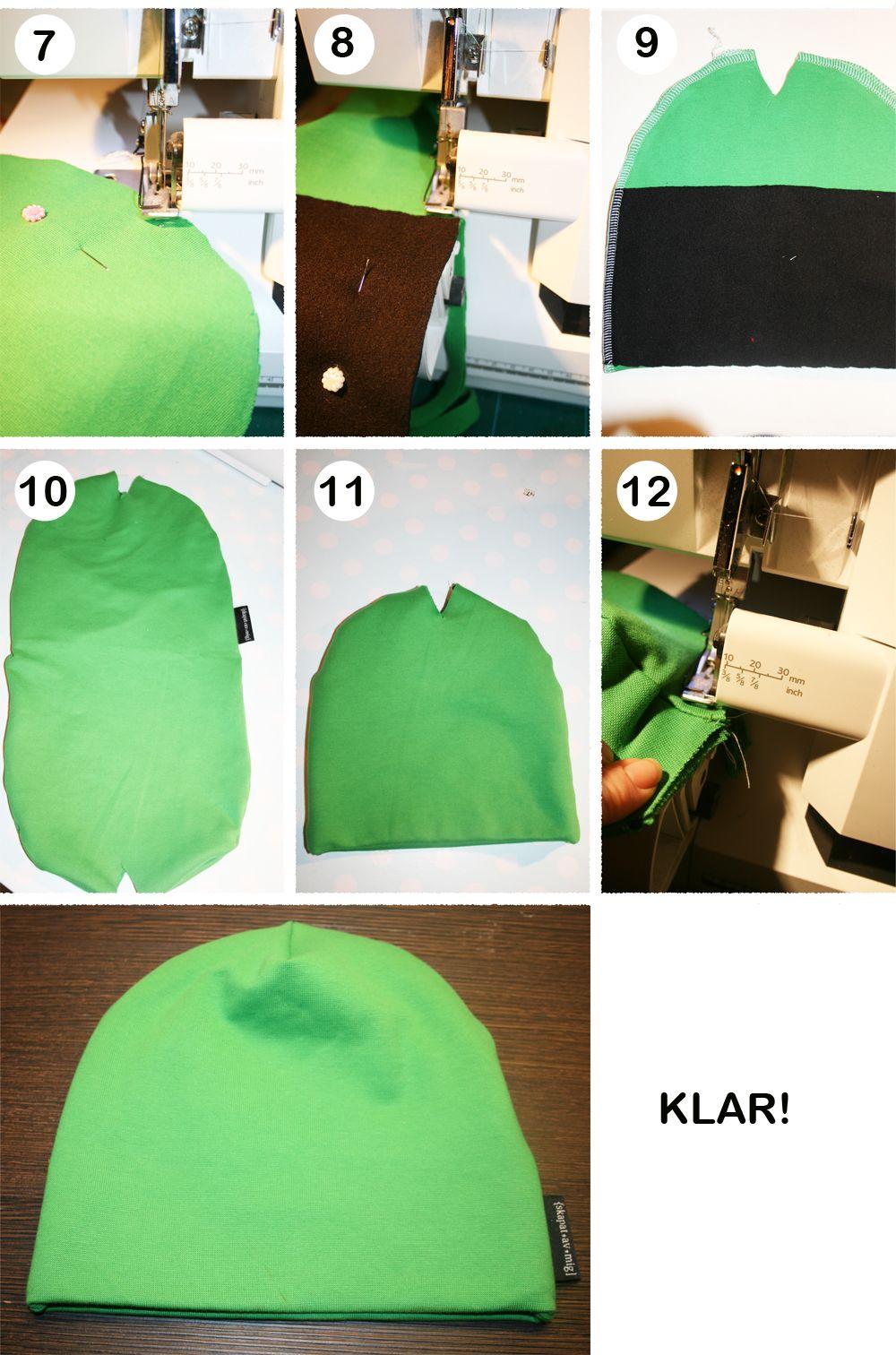 2633af3db153 Fodra mössa TUT | DIY ideas for kids clothes | Sy kläder barn, Mössa ...