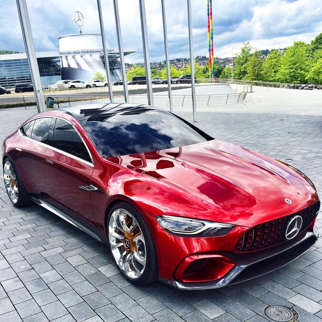 Mercedes Amg Gt Concept Mercedesbenzmuseum Mercedesbenz