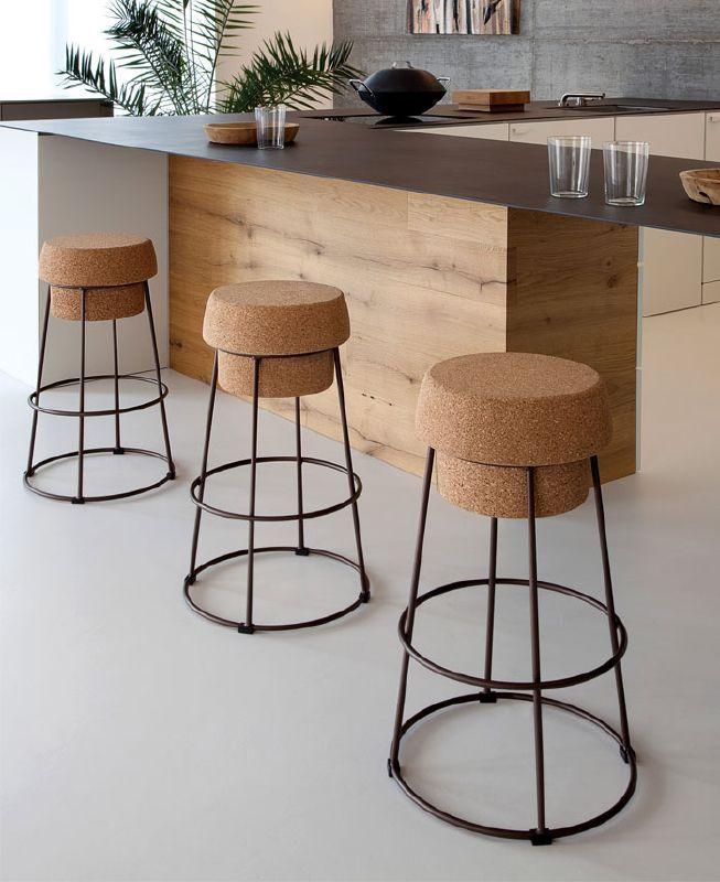 Bouchon Stool by Domitalia | Barstol, Möbelidéer, Interiör