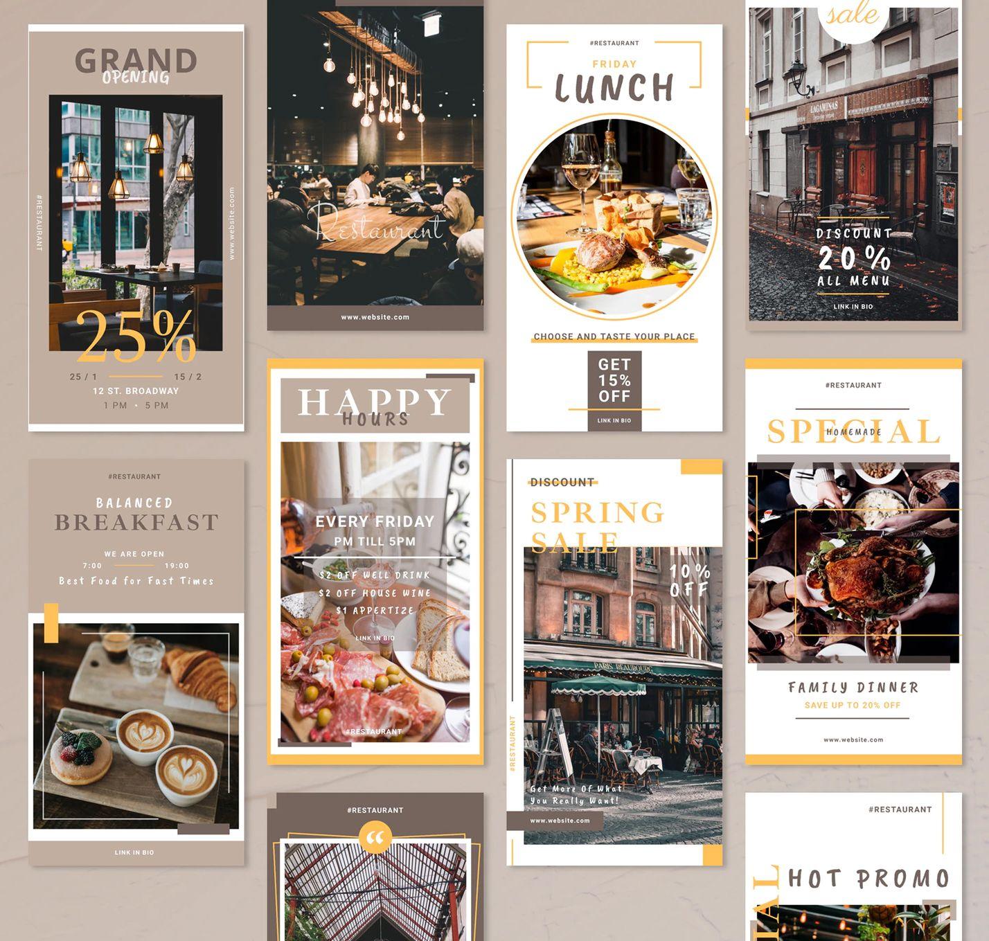10 Restaurant Instagram Story Ideas Instagram Story Ideas Instagram Story Best Instagram Stories