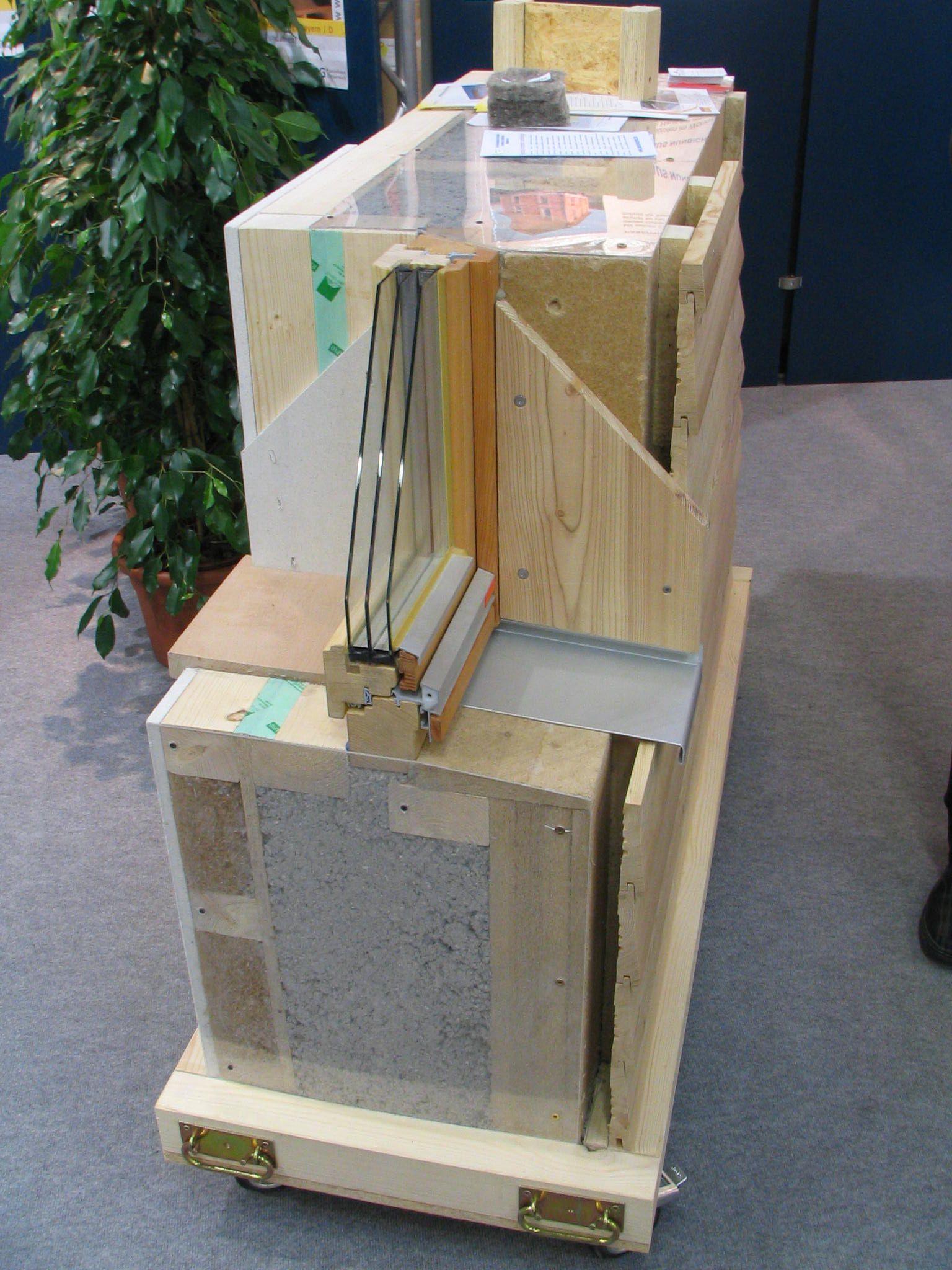 Passivhaus wandaufbau  wohnen.pege.org 2007-bauen-wohnen passivhaus-wandaufbau_print.jpg ...