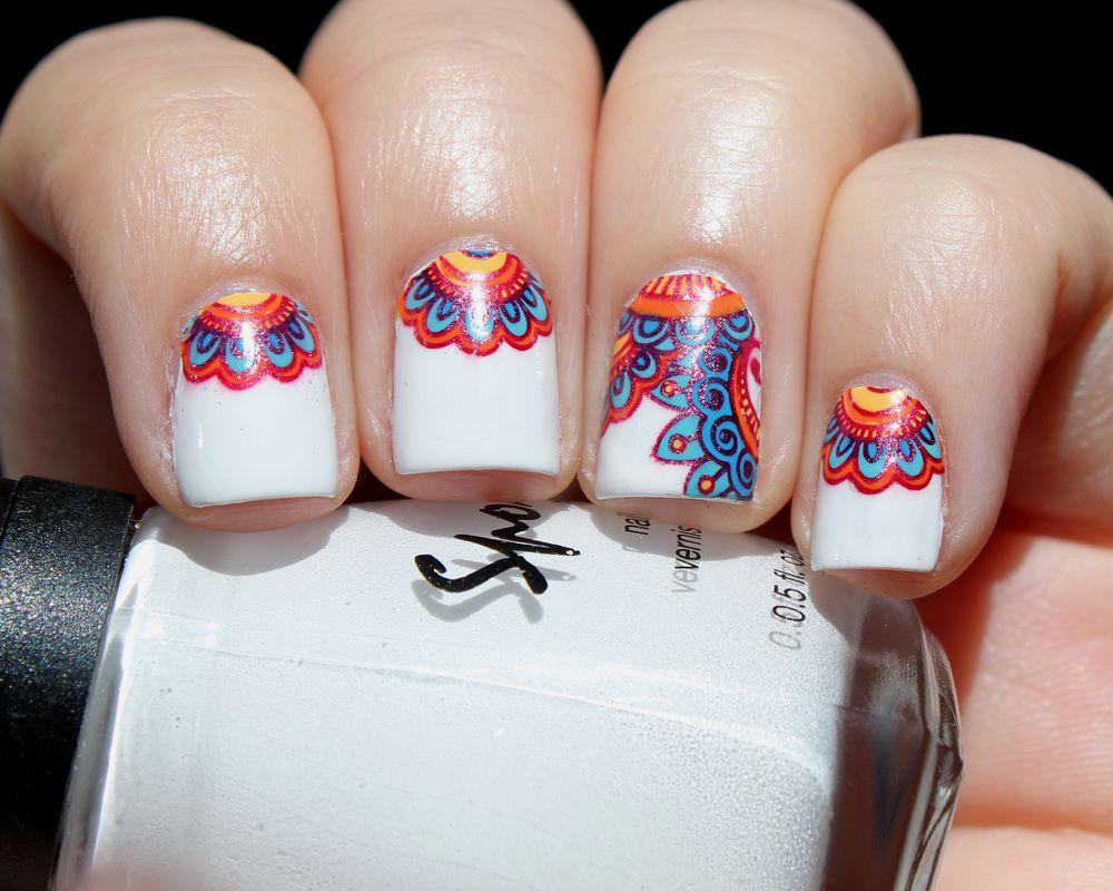 Resultado de imagen para mandala nails | belleza | Pinterest ...