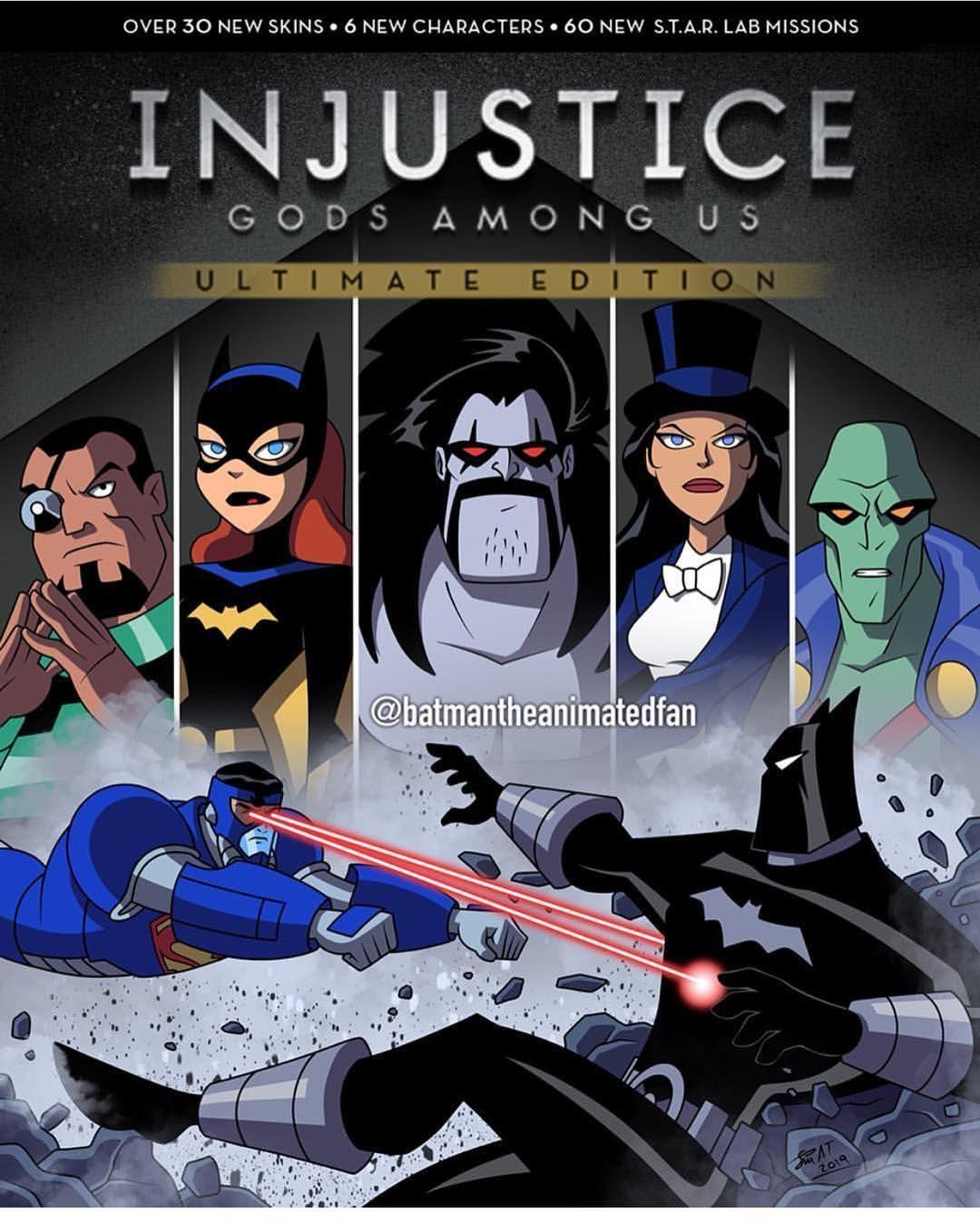 The Batman On Instagram Animated Injustice By Batmantheanimatedfan Injusticegodsamongus Batmanvsuperman Batman Superman Batgirl Wonderwoman Aq