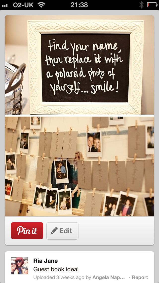 Guestbook valis wedding god bless pinterest guestbook polaroid guest book escort cards the best idea who doesnt love a good polaroid super fun and will make for a great memory solutioingenieria Image collections