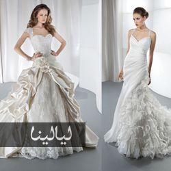 فساتين زفاف ديمتريوس هل ستختارين فستانا منهم Www Layalina Com Dresses Wedding Dresses One Shoulder Wedding Dress