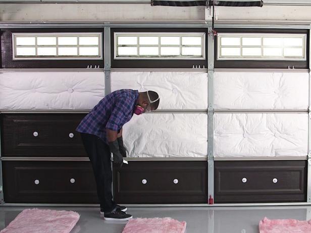 How to insulate a garage door ideas doors and
