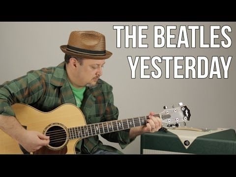 The Beatles - Yesterday - Guitar Lesson - How to Play on Acoustic ...