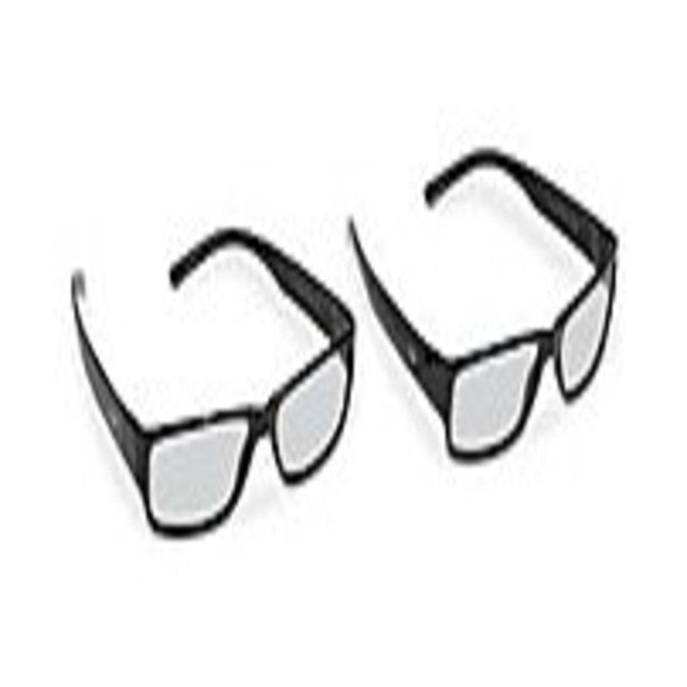 Vizio XPG202 Theater 3D Eyewear - 2-Pack - Black - Glasses Only
