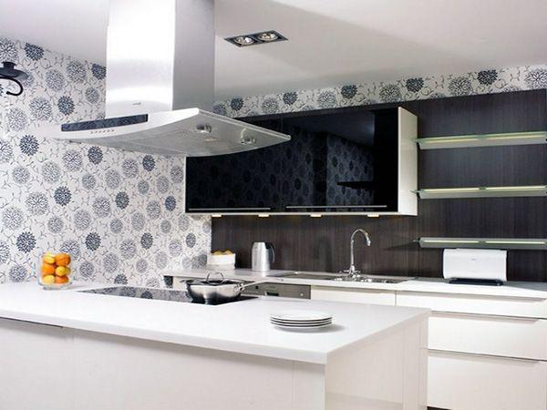 White Kitchen Wallpaper Ideas Kitchen Design Antique Kitchen