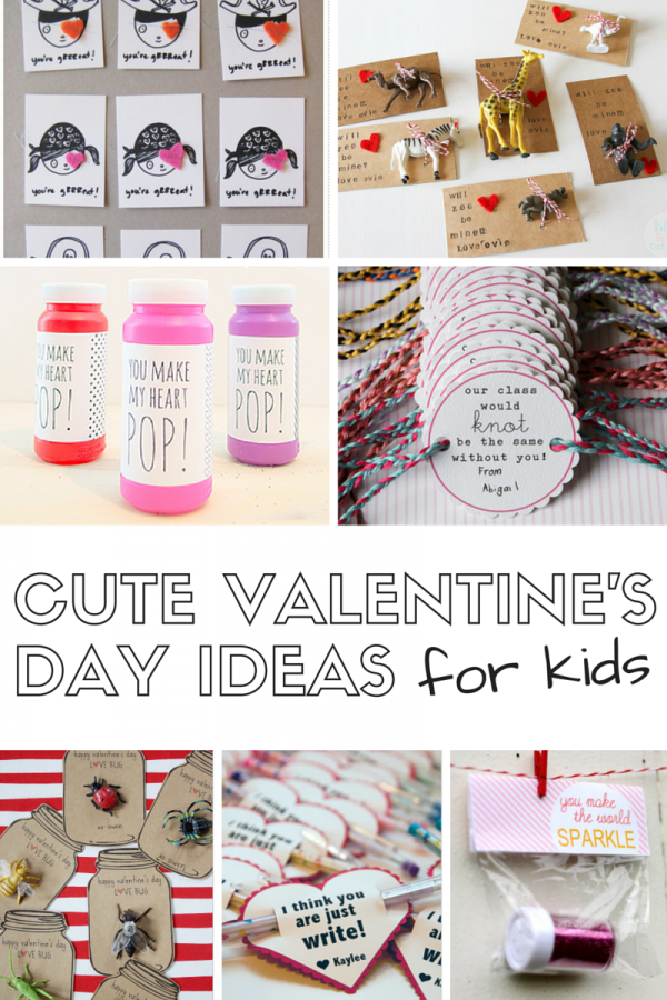 7 cute valentine's day ideas for kids!, Ideas