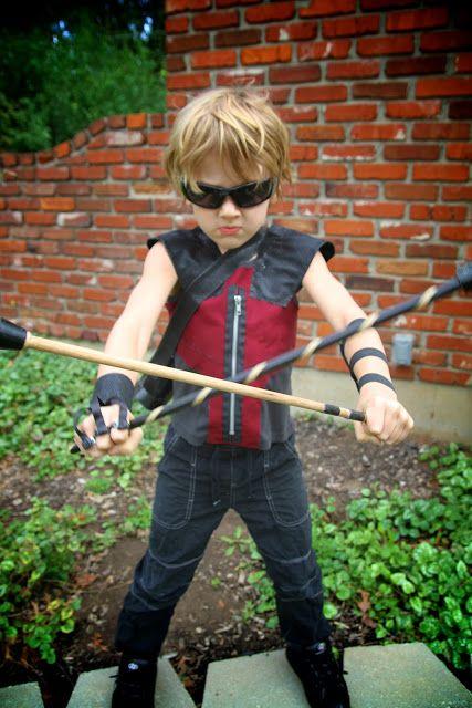 Life Sprinkled With Glitter The Avengers Homemade Hawkeye Costume