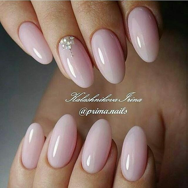 Fabulous Designs for Almond Shaped Nails picture 3 - Pin By Κατερίνα Παπ. On ♥ Nail Art ♥ Pinterest Manicure