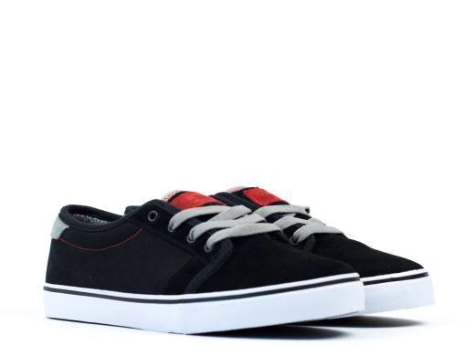 ee3524bcfa Fallen Forte Jamie Thomas Skate Shoe - Black Cement Grey