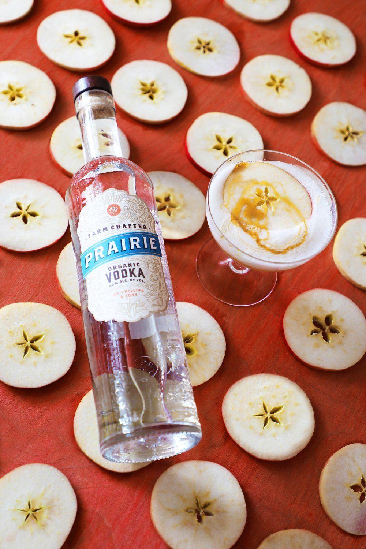 Honeycrisp Vodka Sour Honeyed
