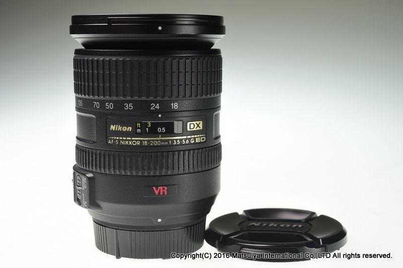 NIKON AF-S DX VR NIKKOR ED 18-200mm f/3.5-5.6G IF Excellent+ #Nikon
