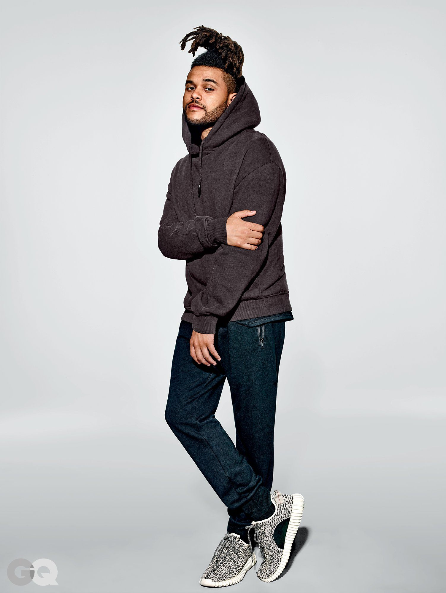 The Weeknd Wears Kanye\u0027s New Yeezy Collection | GQ