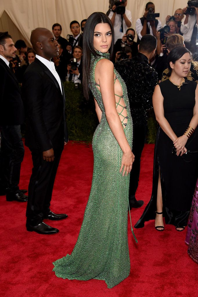 25ebc9994453 Kendall Jenner Shows Off Her Sexy Side at the Met Gala