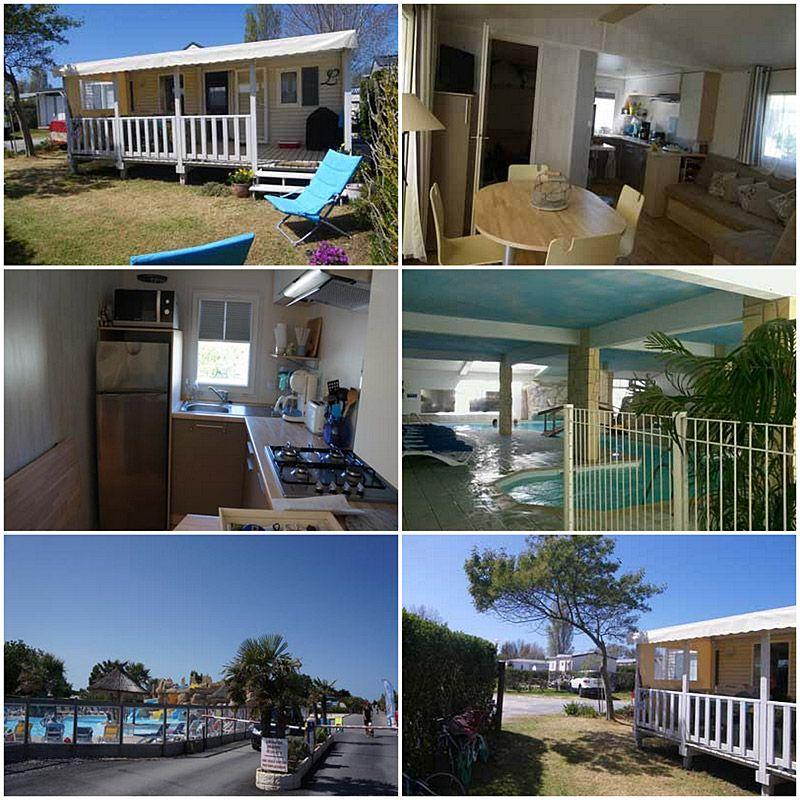 Location d\u0027un mobile home à Saint Denis d\u0027Oléron avec piscine - Gites De France Avec Piscine Interieure