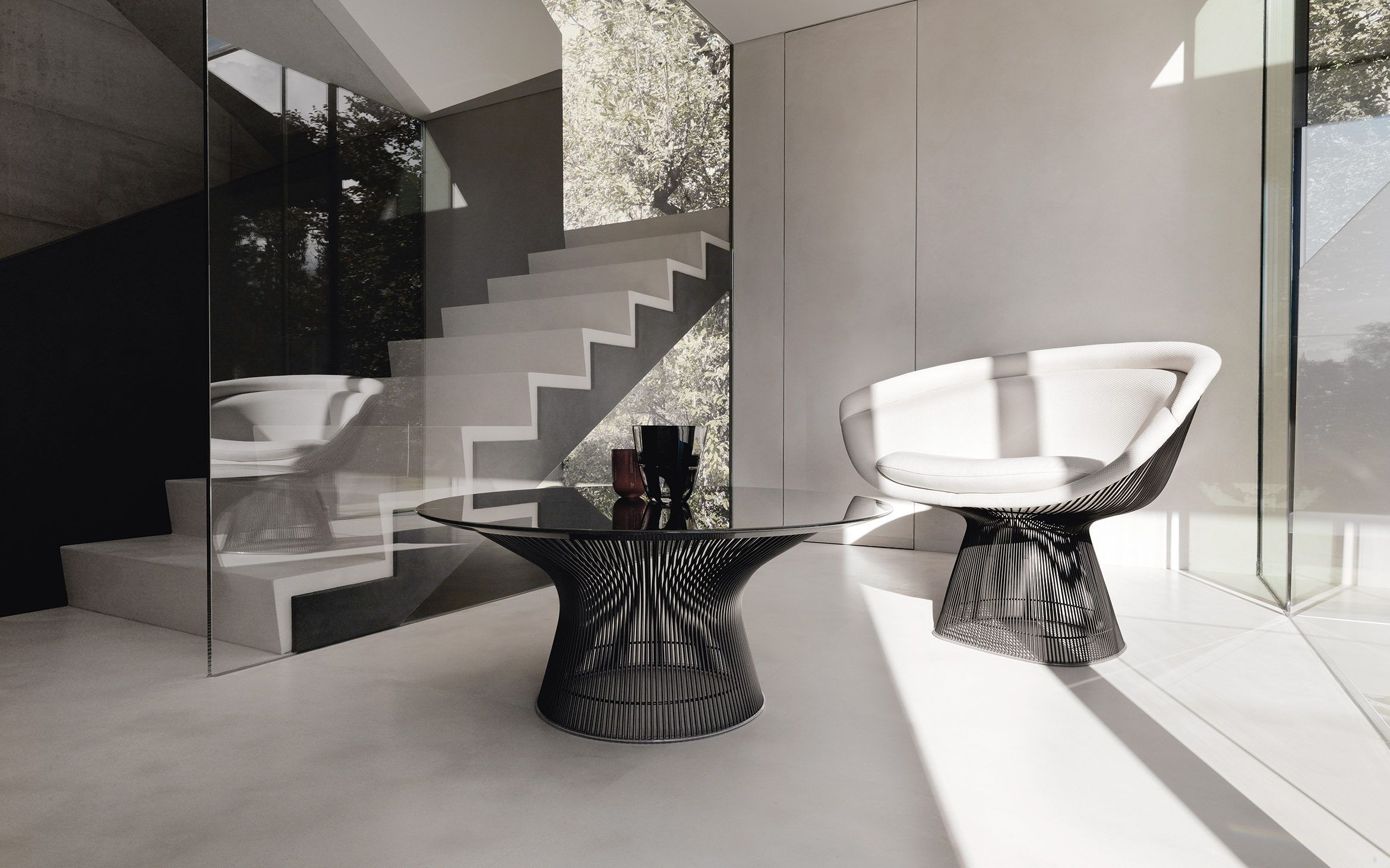 Original design platner collection knoll chairs accent