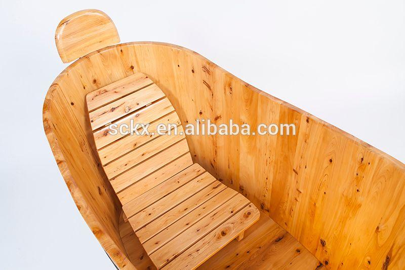 Modern Simple Style Solid Wood Surface Bathtub   Buy Wooden Bathtub,Cedar Wooden  Bathtub,Chinese Cedar Wooden Bathtub Product On Alibaba.com