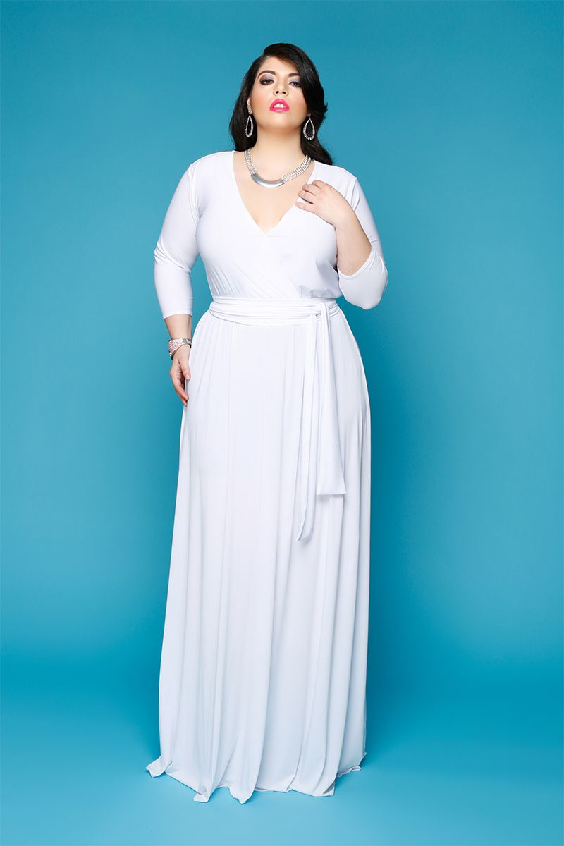 Plus Size Maxi Dress | Plus Size Fashion | Pinterest | Wraps, Maxi ...