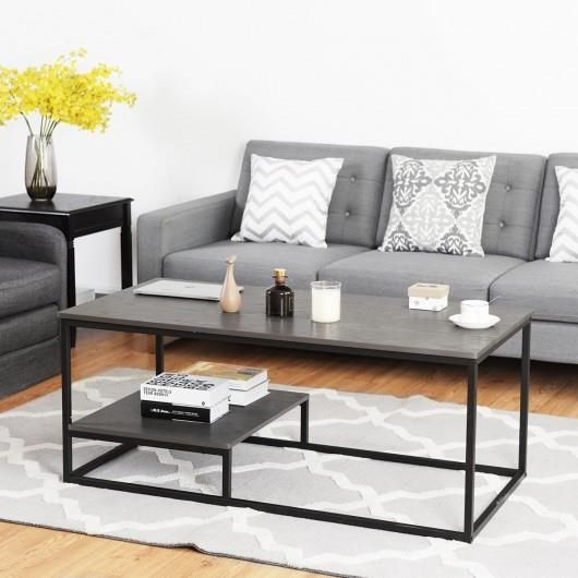 This 2 Tier Coffee Table Is Convenient For You To Use And It Is