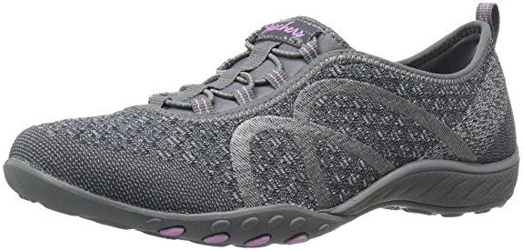 Breathe Easy City Lights, Ballerines femme - Noir (Blk), 41 EU (8 UK) (11 US)Skechers