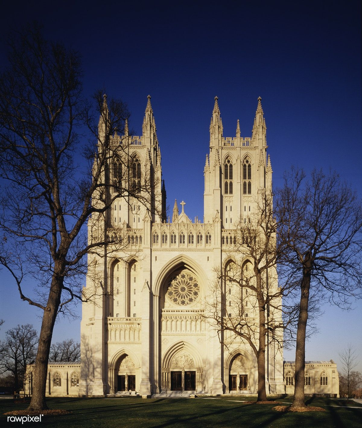 National Cathedral Washington D C Original Image From