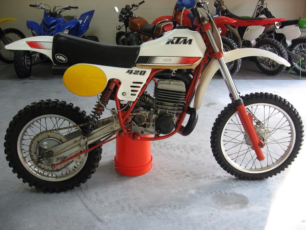 Ktm 420 Ktm Vintage Motocross Ktm Motorcycles
