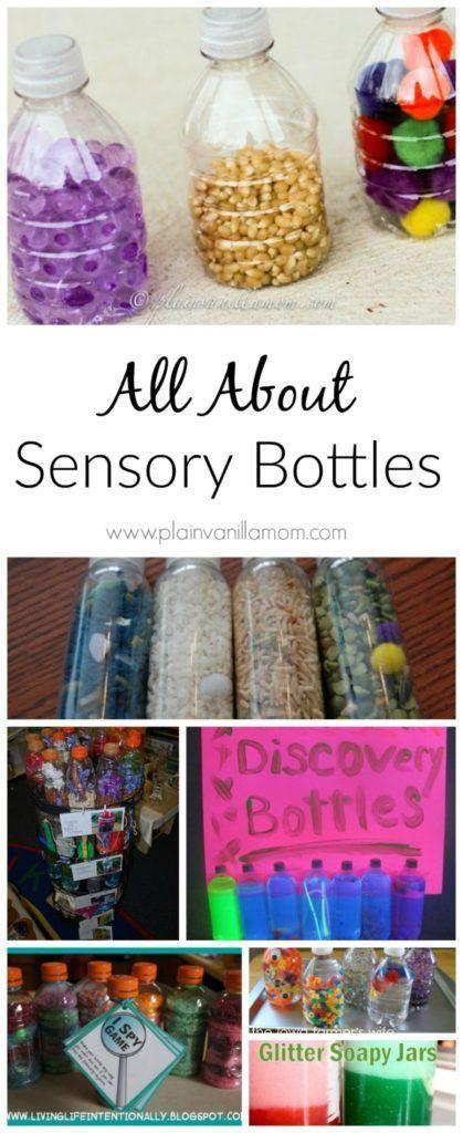 Sensory Bottles for Little Ones #sensorybottles
