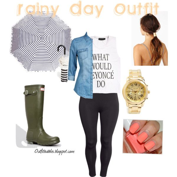 4f3a005a2f Rainy day Plus size outfit