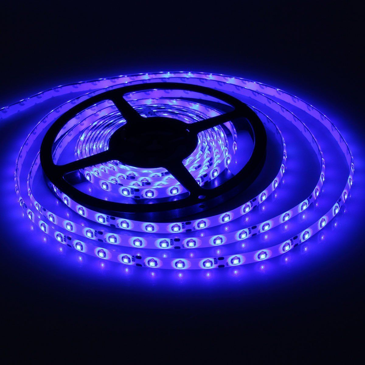 Dodolightness Lampux 12v Flexible Led Strip Lights Blue Waterproof 300 Units 3528 Leds Light Strips Strip Lighting Flexible Led Strip Lights Waterproof Led