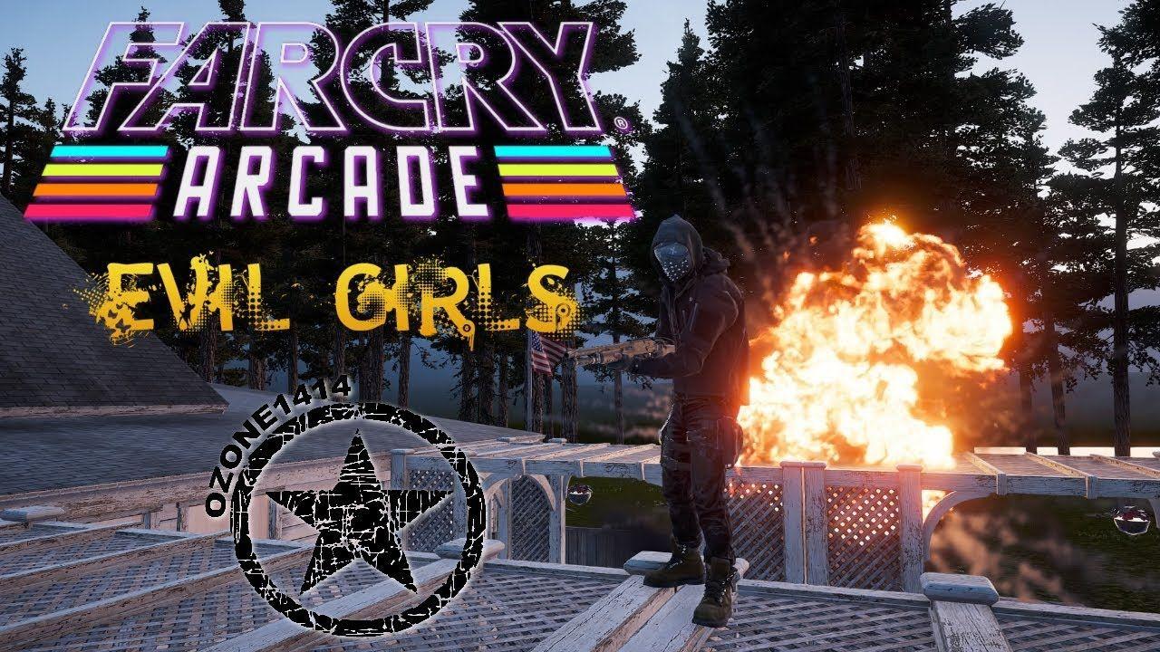 Far Cry 5 Arcade Evil Girls Evil Girl Far Cry 5 Arcade