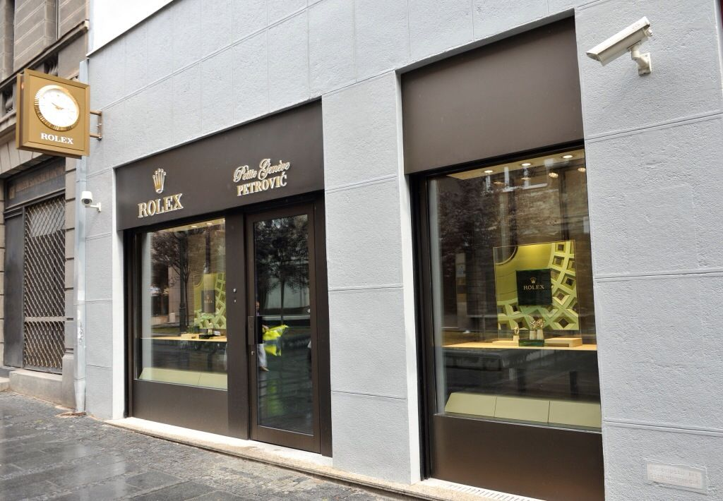 Rolex opens new store, Belgrade (Beograd) Serbia