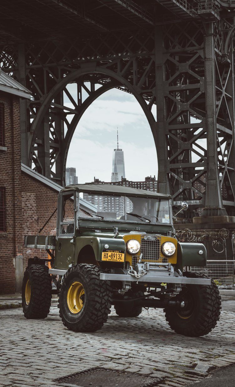 - Timm Cooper Built Land Rover Series One - 107 Ute — Brooklyn Coachworks
