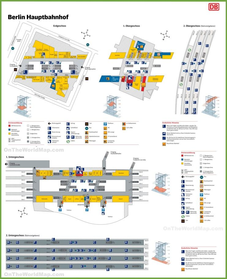 Berlin hauptbahnhof map Maps Pinterest Berlin berlin and City