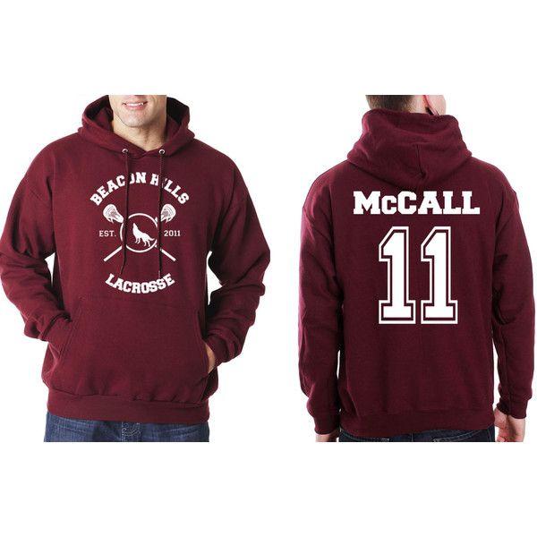 mccall 11 beacon hills lacrosse teen wolf unisex hoodie s. Black Bedroom Furniture Sets. Home Design Ideas