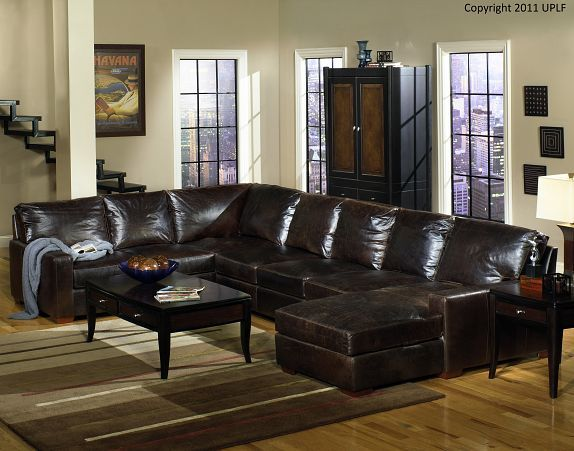 Product Page Usa Premium Leather Furniture Sectional Sofa With Chaise Leather Sectional Sofas Leather Sectional