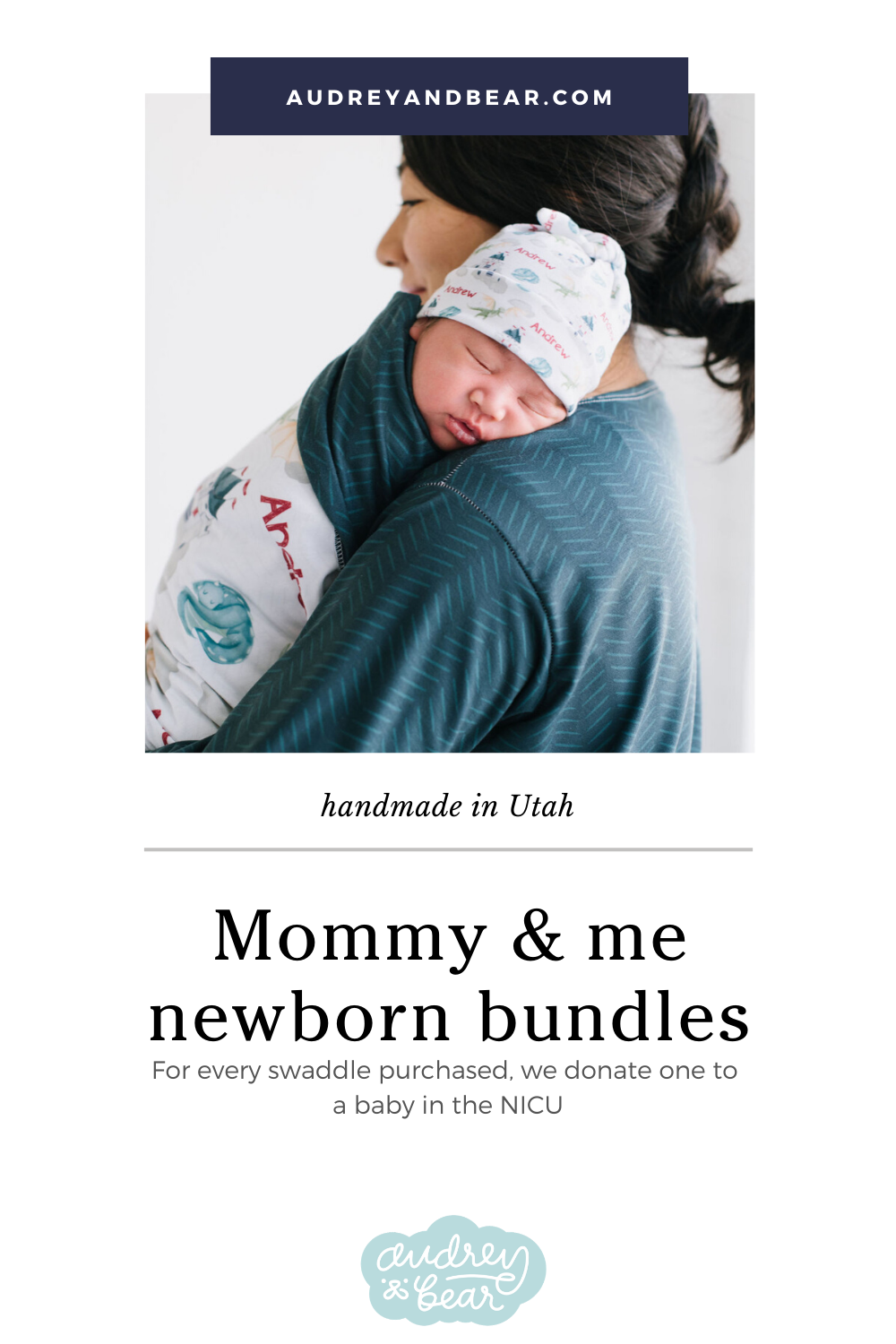 Mommy Robe and Swaddle Set
