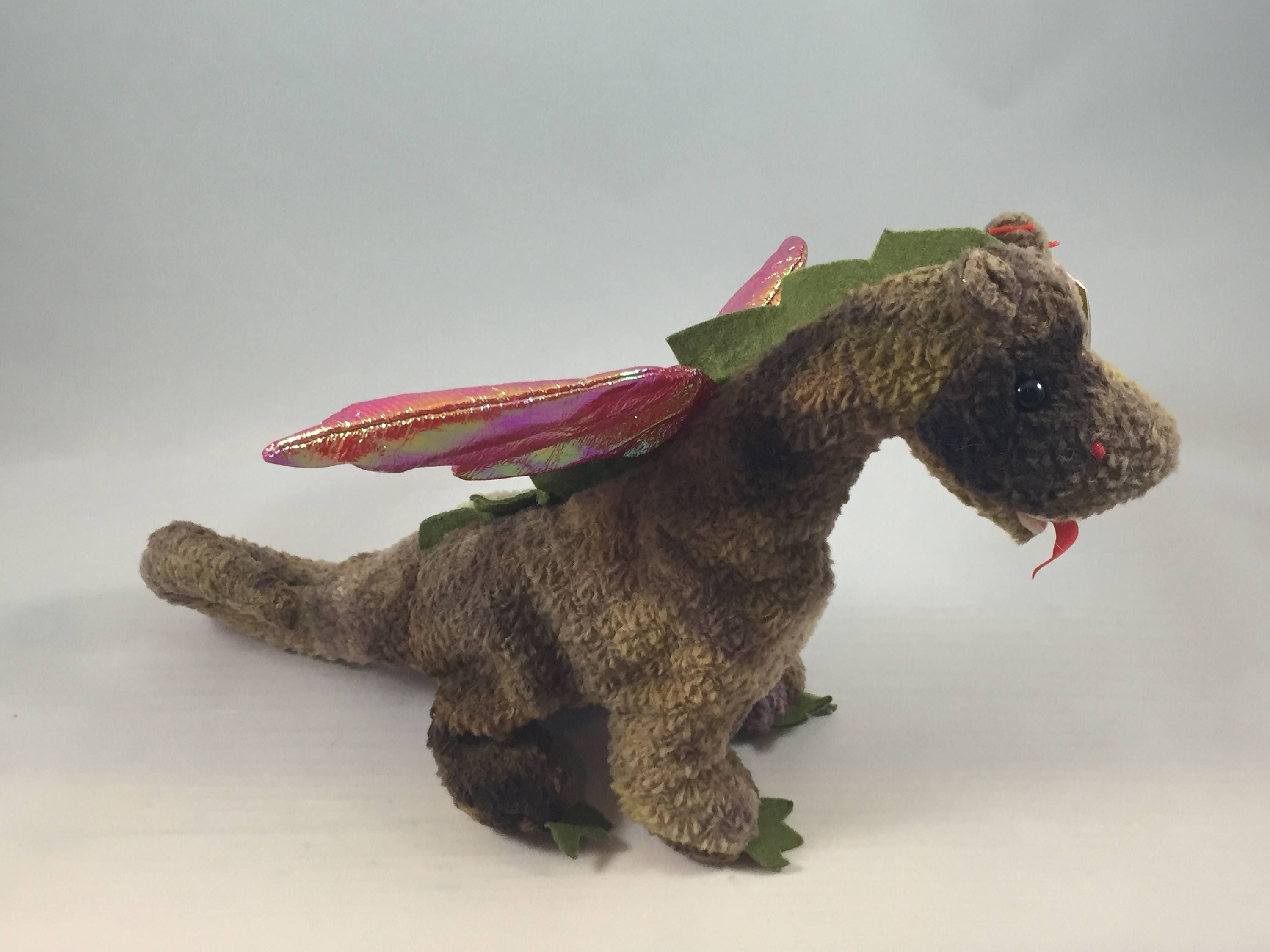 f5a26c28d30 Scorch the Dragon Plush TY Beanie Baby Stuffed Vintage Toy
