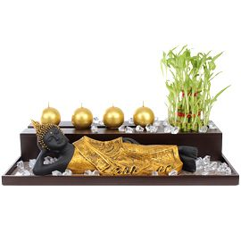 Get this elegant Buddha #Gift   hamper to bring good luck for your loved ones on New Year.  http://bit.ly/1Agd0oU