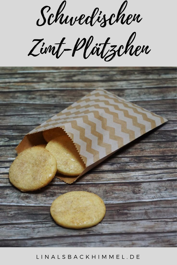 13. Dezember: Schwedische Zimt-Plätzchen - linalsbackhimmel.de #cinnamonsugarcookies